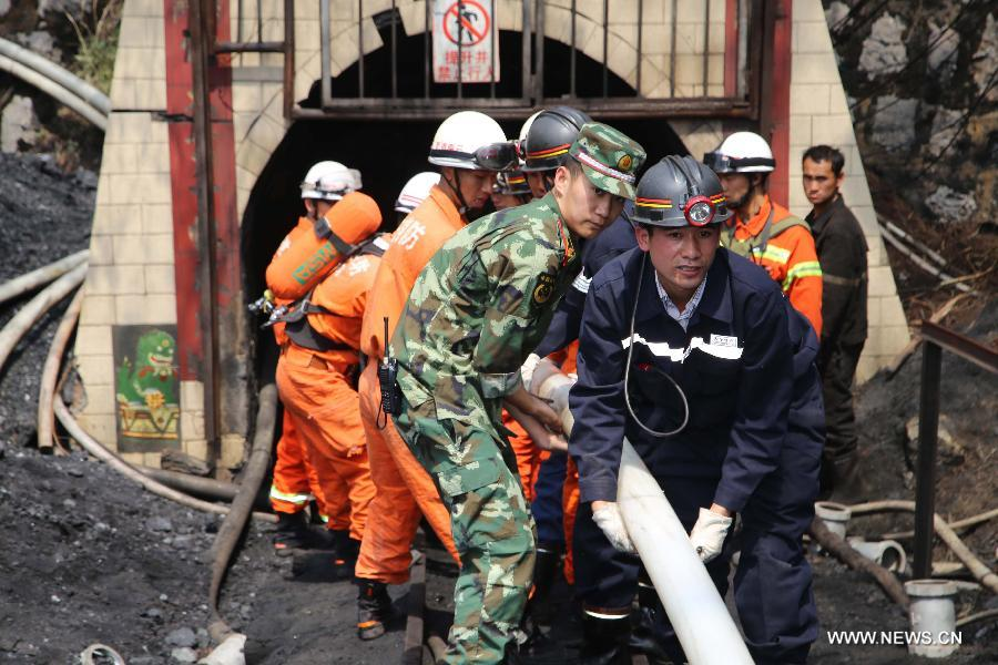China: Mine Flood Death Toll Continues to Rise
