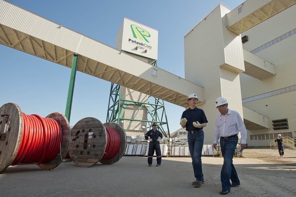 Potash to Help Saskatchewan's Economy Grow despite Slowdown in Energy Sector