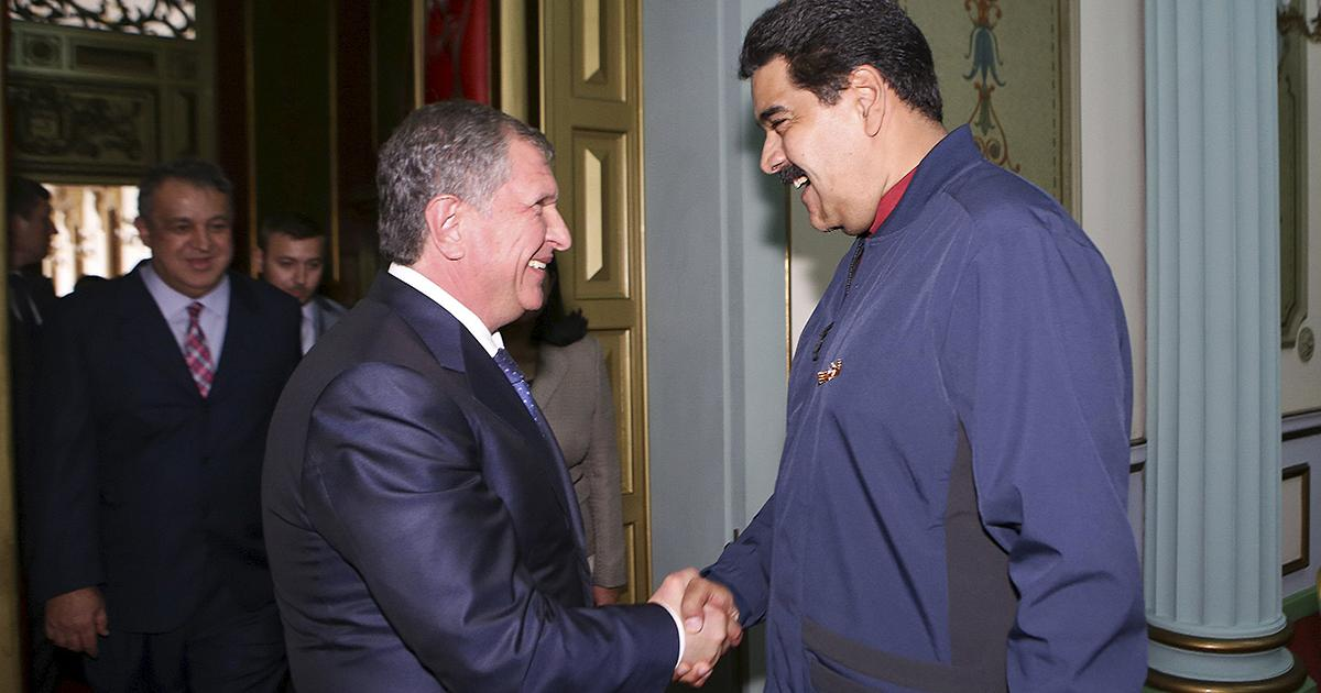 Venezuela Signs a Deal with Russia's Rosneft Worth $14 billion