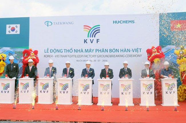 Taekwang to Build a Fertilizer Plant in Vietnam