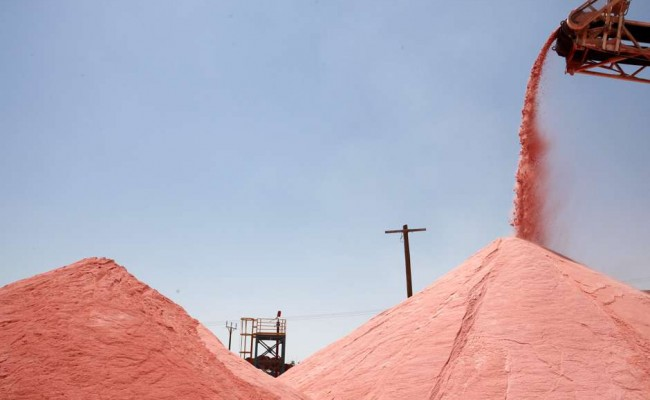 Israel's ICL Signs Contracts to Supply 750,000 Tons of Potash to India