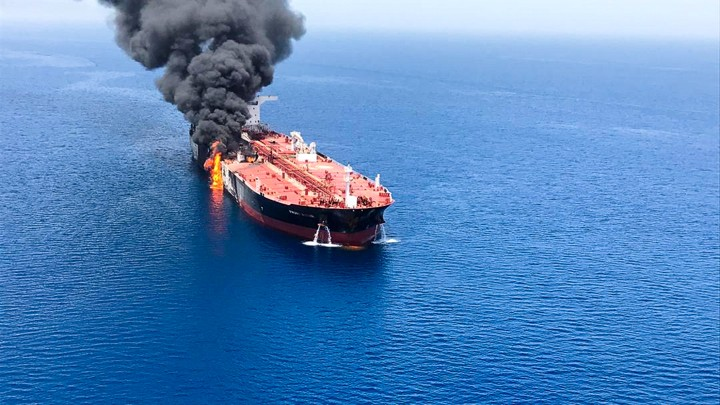Middle East 'Ablaze': US Blames Oman Tanker Explosions on Iran